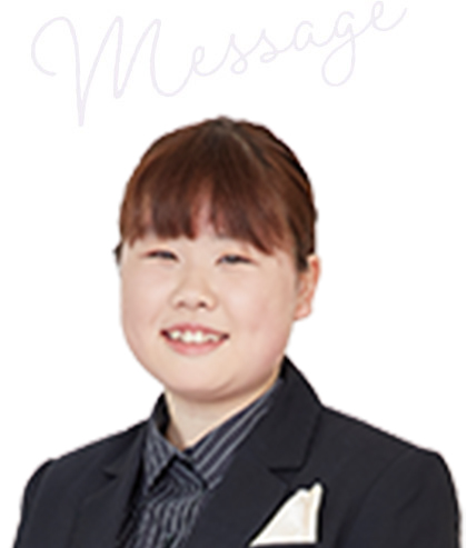 加藤 麻那さん(平成31年3月卒業)